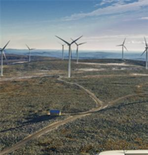 Ikeas nya vindpark i Härjedalen
