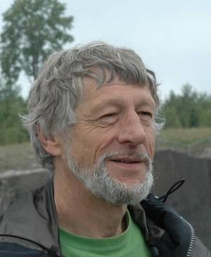 kläckte IDÉN. Miljö- och hälsoskyddsinspektör Ulf Blomquist är hjärnan bakom idén att göra dammar som renar dagvattnet.