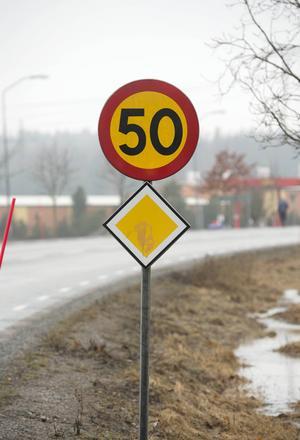 Vi är sämre än vi tror på att köra in tid, i höga hastigheter överskattar de flesta av oss tidsvinsten.    Foto: Fredrik Sandberg/TT