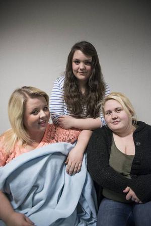 Andrea Hedenborg, Felicia Wall och Anna Holmlund vill göra välgörenhet som sina livsresor.