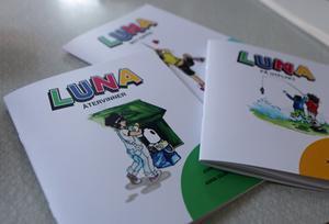 Böckerna om Luna har illustrerats av Anna Olofsson.