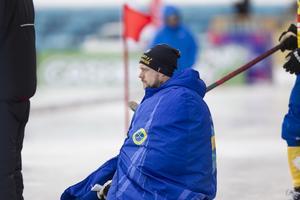 Joel Othén under bronsmatchen mellan Sverige och Kazakstan vid VM Uljanovsk.