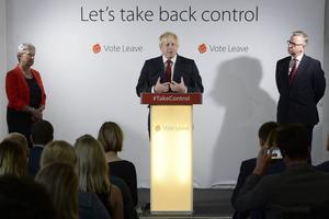 Boris Johnson hoppas bli ny premiärminister efter David Cameron.