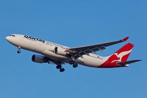 Qantas hamnar i topp när det gället flygsäkerhet.