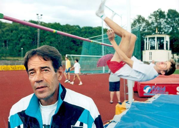 Viljo Nousiainen har betraktats som en legend inom svensk friidrottshistoria.