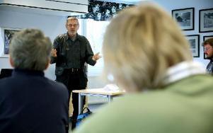 Föreläsaren Kåre Olsson. Foto: Johnny Fredborg