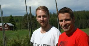 Badmintonledaren Anders Nyman och bandyprofilen Andreas Westh har blivit utsedda till årets Haneboungdom respektive Hanebobo.