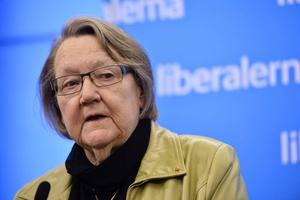 Marit Paulsson (FP) jobbar bland annat för djurens rätt i Europaparlamentet.
