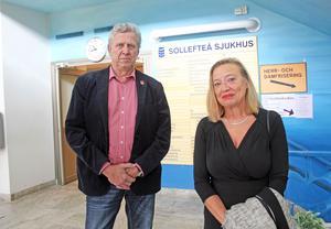 Lars-Gunnar Hultin och Karin Rågsjö