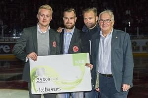 Från vänster: Christoffer Lindmark, Andreas Jonsson, Niklas Sundström, Gunnar Bodén.