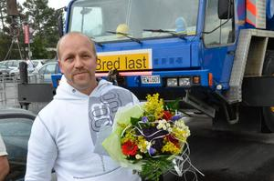 Prisad. Pekka Makkonen från Laxå innebandyklubb utsågs av Lions till årets ledare 2011.