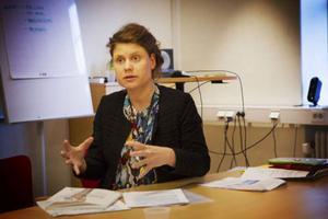 Eva Forsberg säger att avloppsvattnet innehöll både cannabis och amfetamin.
