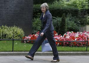Storbritanniens nya premiärminister Theresa May.