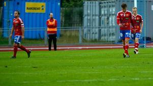 Andreas Baggers, Mikael Svahns, Tom Stahres och Albin Segers BKV Norrtälje har inte vunnit sedan den 22 juni. Då hemma mot Avesta med 3-0.