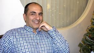 Levent Özdemir, driver Fagersta Brukshotell.