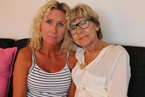 Solbritt Björkstrand och hennes dotter Annelie Hålén fick ta bilen och åka hem till Sundsvall igen – utan operation.