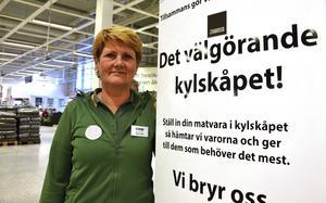 Gabriella Andersson, stormarknadschef på Coop Forum och ordförande för Handlarföreningen i Birsta.