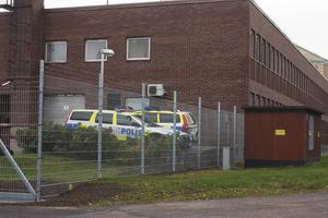 Polisstationen i Fagersta.