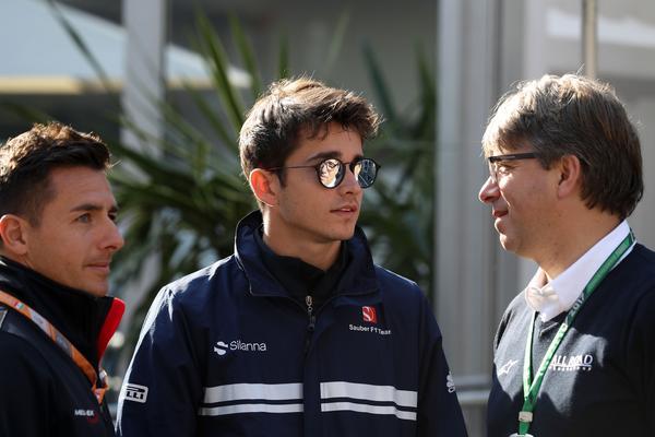 Ferrari-junioren Charles Leclerc.