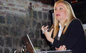Anna-Karin Karlssons bästa råd till blivande företagare är att välja något de tycker är otroligt kul att göra, då får man drivet att jobba hårt för att lyckas. Foto: Eva Högkvist