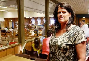 Karin Ekeljung, förälder, har varit med och kämpat för att Ope skola ska vara kvar.