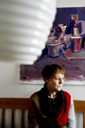 """Förre läraren Monica Arnström  har engagerat sig för att det ska serveras fisk oftare i skolluncherna.""""Det är bättre än att barn och ungdomar ser fisk som ett nödvändigt ont, för då väljer de det inte frivilligt"""". Foto: Henrik Flygare"""