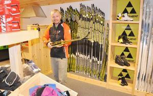 Kalle Johansson ser ett behov av en längdbutik i Bruksvallarna.