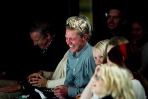 Stefan Jönsson var en av många som uppskattade Småstadsliv. – Grymt bra, blev hans omdöme av föreställningen.