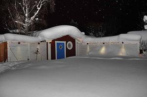Att få upp den dörren var nog ingen lätt match i december förra året, hemma hos Erik Zetterqvist i Hagaström...