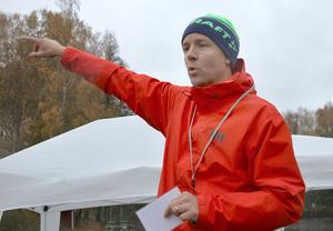 Matt Ford har varit drivande bakom Örebro parkrun, och är en av tolv funktionärer i premiärupplagan på lördag. Parkrunkonceptet bygger på att volontärer ställer upp och hjälper till med att arrangera loppen.