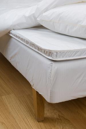 För den som är allergisk mot kvalster kan ett kvalsterskydd över madrassen göra skillnad.