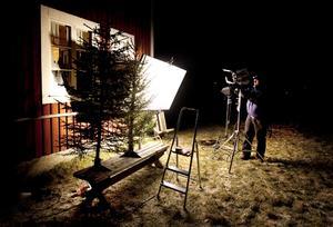 Filminspelningen ägde bland annat rum på Jamtli i november 2009.