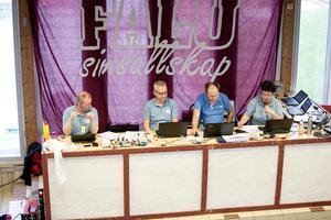 Personal i sekretariatet under Sum-Sim i Falun.