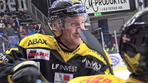 Marcus Bergman kvitterade till 1–1 för VIK.