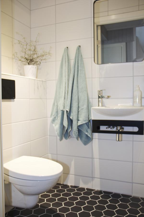 Nytt. Gästbadrummet blev klart den här veckan och är det senaste projektet som blev klart hos My Dömstedt.