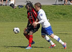 Hypervasse Anthony Allison gjorde Frånös båda mål i segermatchen mot Timrå.