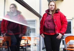 Anna-Stina Tigers tentamen slarvades bort. Problemen har enligt henne hopat sig under de drygt tre månader som hon gått på utbildningen.