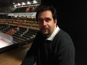 Patrick Edlund, nöjd sportchef för Ö-vik Hockey.