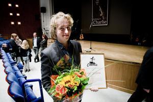 Lowa Linna mottog årets ungdomsstipendium vid hyllningen till Charlie Normans minne.