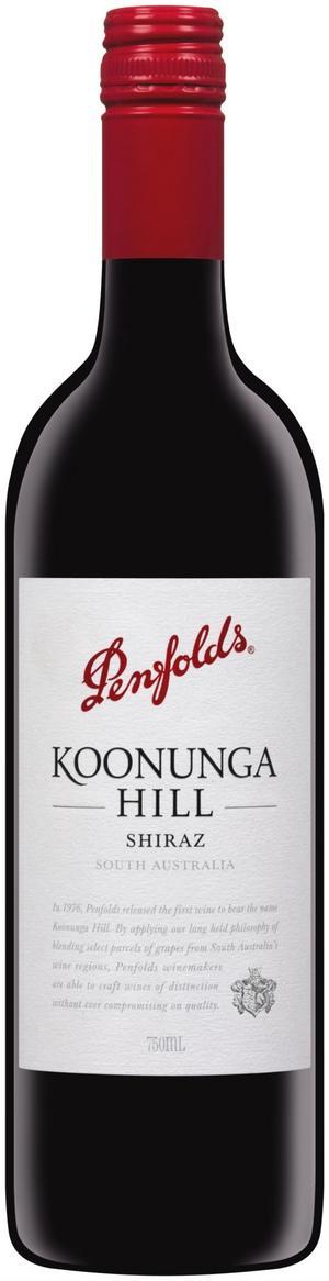 Gott aussievin. Penfolds Koonunga Hill, 89 kr är ett mycket välgjort och gott vin från Australien som funnits länge i Systemets sortiment.