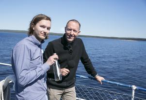 Vattholmsskären, Eric Marcus och Mattias Klum inviger naturreservatet Vattholmsskären.