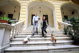 Sedan flytten till Budapest har paret engagerat sig helhjärtat i den lokala organisationen FAPF, som lyckats få över 1 000 behövande hundar bortadopterade.    Foto: Thomas Kolbein Bjørk Olsen