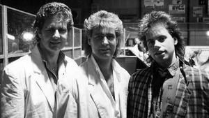 Bröderna Samuelsson i Surahammar i maj 1986.
