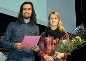 Årets nyföretagare, Elina Lindholm och Andreas Sihvonen har öppnat klädbutiken Tegel i Gästhuset i Åre.
