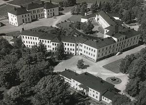 Gådeå sjukhus 1938. Foto: Från Länsmuseet Västernorrlands bildarkiv.
