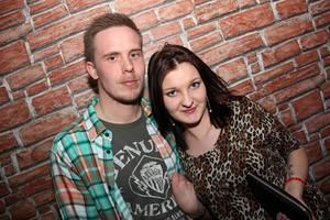 Poco Loco Bar. Robban och Jeanette.