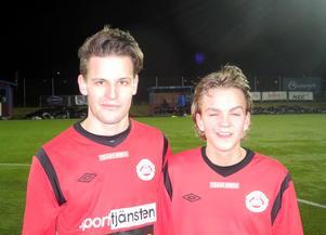 Josef Steiner och Sebastian Anell.