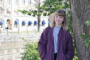 Louise Sundqvist fyller 20 år på lördag, 22/4.