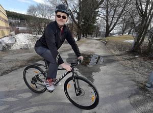 Sven Lindoff, ordförande i Cykelförbundet i Sundsvall.