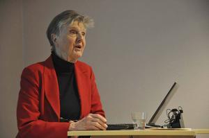 Riksdagsledamoten Barbro Westerholm (L) besökte Bollnäsliberalernas årsmöte på måndagen.